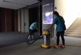 天辰线路测速_会场举办晚会需要清洁公司的清洁维护