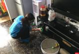 天辰平台_高空作业的保洁员安全防护使用注意事项