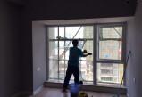 成都保洁公司:擦玻璃怎么擦得干净又省力?