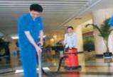 天辰代理_郑州保洁公司是怎么清洗地面的